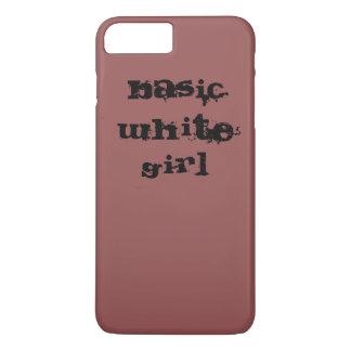 Grundlegende weiße Mädchen Iphone 7 iPhone 8 Plus/7 Plus Hülle