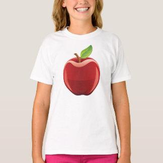 Grundlegender das Hanes Tagless Apple-Mädchen T - T-Shirt