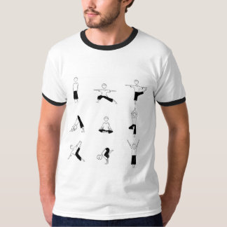 Grundlegender der Wecker-T - Shirt der Männer mit