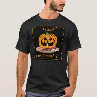 Grundlegender dunkler T - Shirt Halloweens