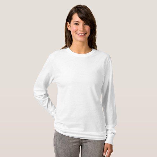 Frauen Basic Langarm T-Shirt