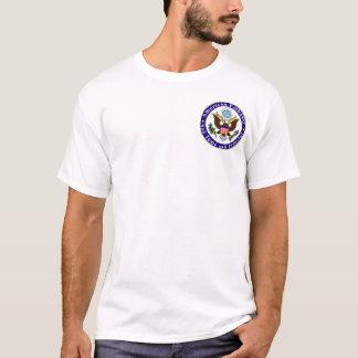 Grundlegender T - Shirt; Emb STP; Wir verdienen T-Shirt