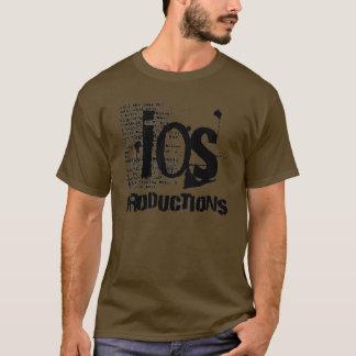Grundlegendes Logo IOS-Produktionen T-Shirt