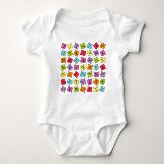 Grundlegendes periodisches baby strampler