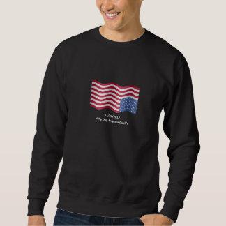 Grundlegendes Schwarz-Schweiss-Shirt Sweatshirt