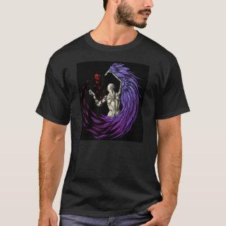 Grundlegendes schwarzes Logo-Shirt T-Shirt