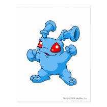 Grundo Blau postkarten