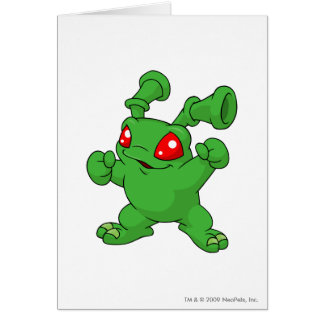 Grundo Grün Grußkarte