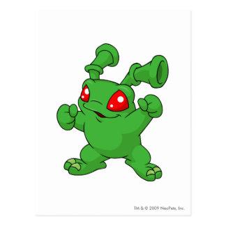 Grundo Grün Postkarte