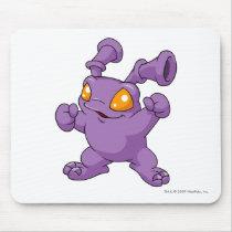 Grundo lila mousepads