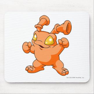 Grundo Orange Mauspads