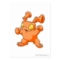 Grundo Orange postkarten