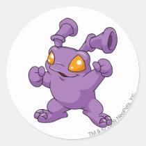 Grundo Purple aufkleber
