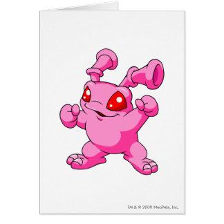 Grundo Rosa Grußkarte