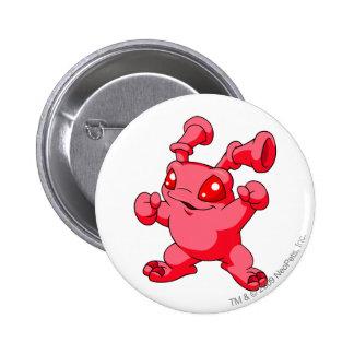 Grundo Rot Runder Button 5,7 Cm