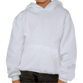 Grundo Schatten Kapuzensweatshirt