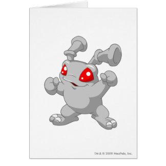 Grundo Silber Grußkarte