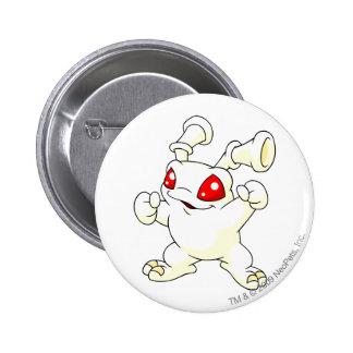 Grundo Weiß Runder Button 5,7 Cm