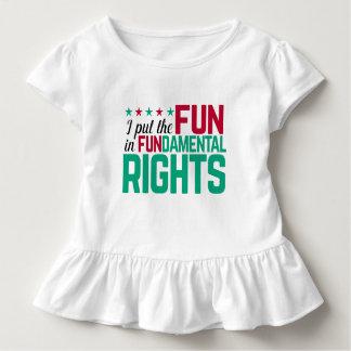 Grundrecht-Spaß Kleinkind T-shirt