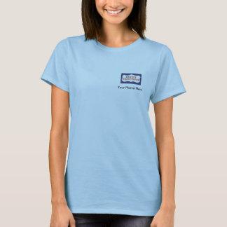 Grundstück-Führungskräfte, personalisiertes Baby - T-Shirt