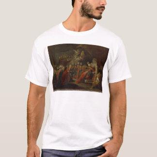 Gründung des Auftrages schwarzen Eagles T-Shirt