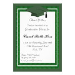 Grüne Abschluss-Party Einladung