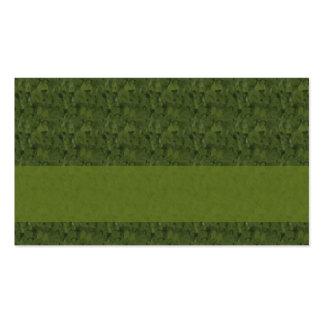 grüne abstrakte Kunst Visitenkarten
