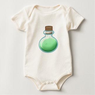 Grüne Alchimie-Flasche Baby Strampler