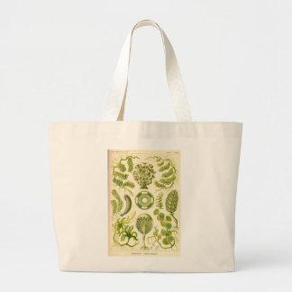 Grüne Algen-Tasche Jumbo Stoffbeutel