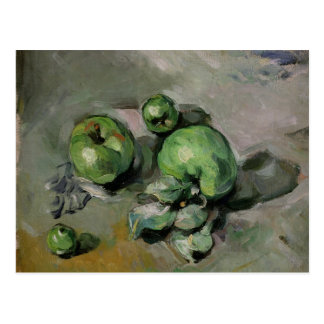 Grüne Äpfel, c.1872-73 Postkarte