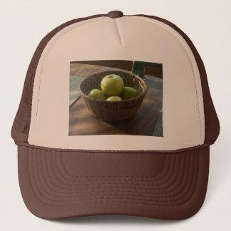 Grüne Äpfel Truckerkappe