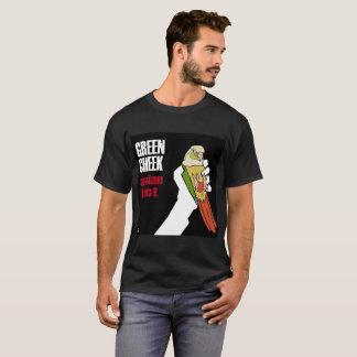 Grüne Backe: Vogelidiot (Zimt) T-Shirt