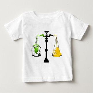 Grüne Balance Baby T-shirt