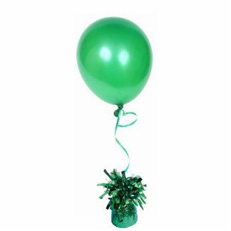Grüne Ballon-Skulptur Freistehende Fotoskulptur