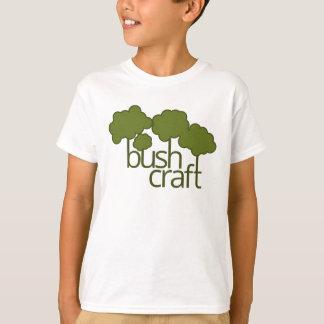 Grüne Bäume, Buschhandwerk T-Shirt