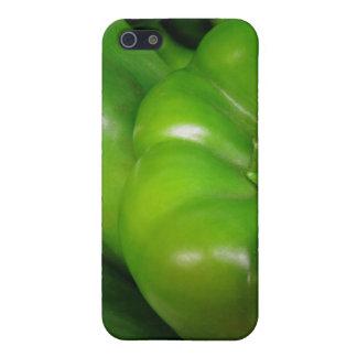 Grüne Bell-Paprikaschoten iPhone 5 Schutzhülle