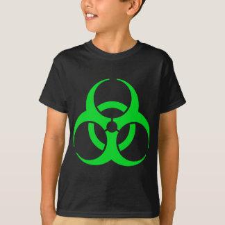 Grüne Biogefährdung T-Shirt