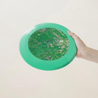 Grüne Blasen Wham-O Frisbee