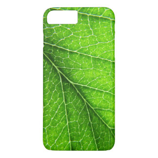 Grüne Blattbeschaffenheit iPhone 7 Plus Hülle