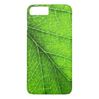 Grüne Blattbeschaffenheit iPhone 8 Plus/7 Plus Hülle