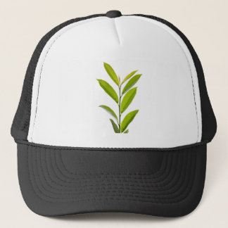 Grüne Blätter Truckerkappe