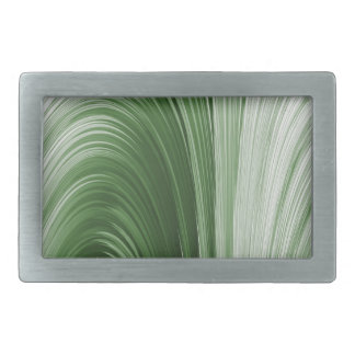 Grüne Bogen-Schaffung Rechteckige Gürtelschnalle