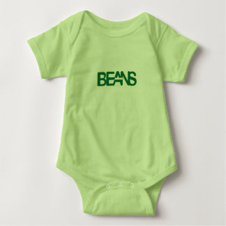 Grüne Bohnen! Baby Strampler