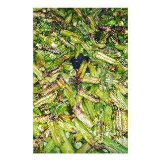 Grüne Bohnen… Briefpapier