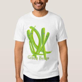 Grüne Bohnen Hemden