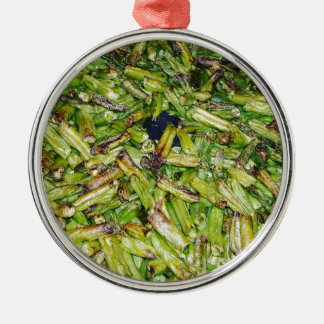 Grüne Bohnen… Silbernes Ornament