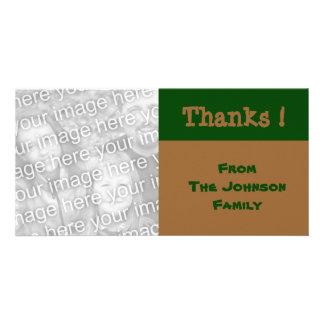 grüne braune Farbe Bilderkarte
