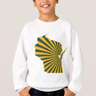 Grüne Bucht-Liebe Sweatshirt