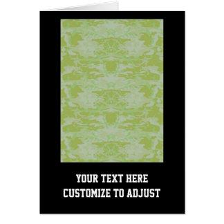 Grüne Camouflage Karte
