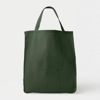 Grüne dekorative Blume - EinkaufsTaschentasche Taschen